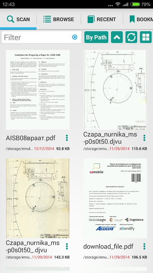 PRO PDF Reader - screenshot