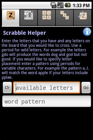 Word Game Cheater - screenshot