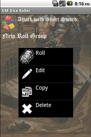 Dungeon Master Dice Roller- screenshot