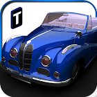 Classic Car Parking 3D icon