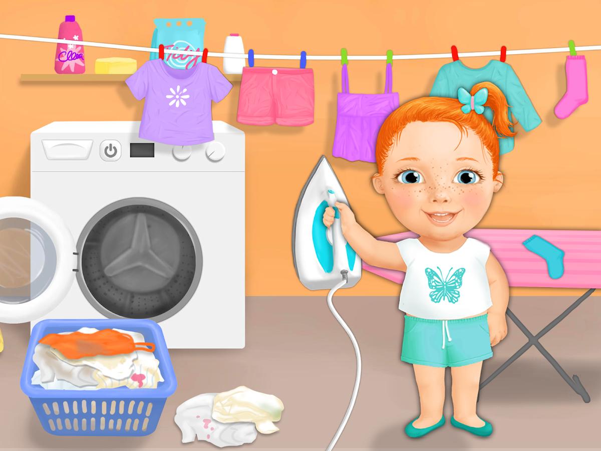 Clean up bathroom games - Sweet Baby Girl Cleanup Screenshot