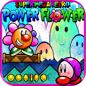 Super Mega Retro Power Flower