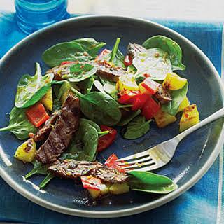 Brazilian Grilled Steak Salad.