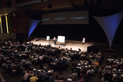 Bill Hybels in the Resurrection Student Center