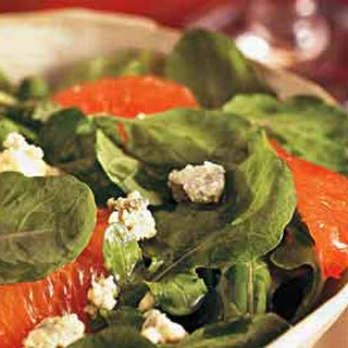 Arugula, Blood Orange, and Blue Cheese Salad