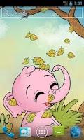 Screenshot of Autumn Baby Elephant Free