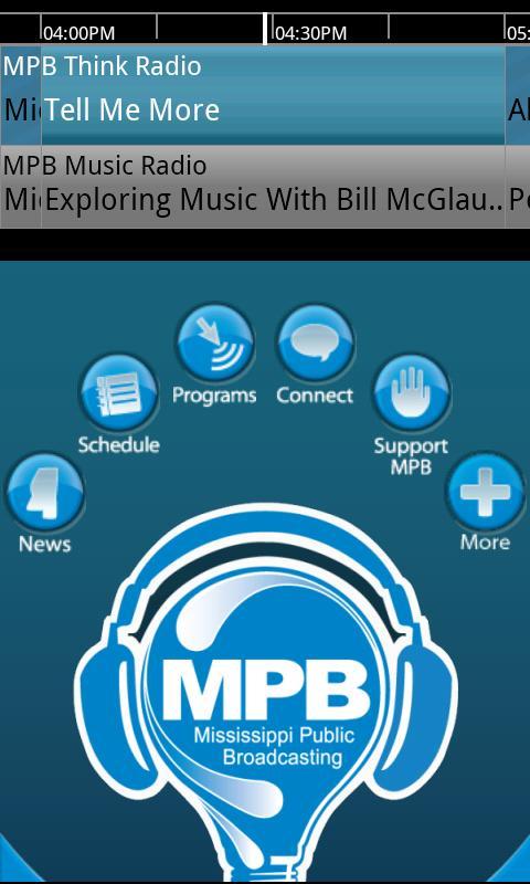 MPB Public Radio App - screenshot