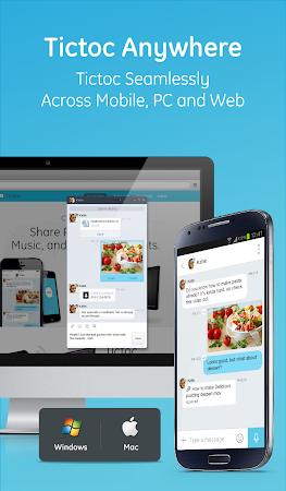 Tictoc - Free SMS & Text 4.0.16 screenshot 378800