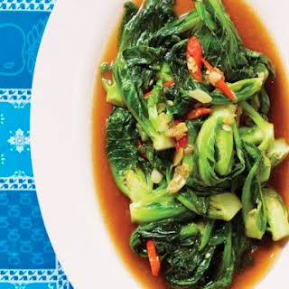 Andy Ricker's Phat Khanaeng (Stir-Fried Brussels Sprouts) From 'Pok Pok'.
