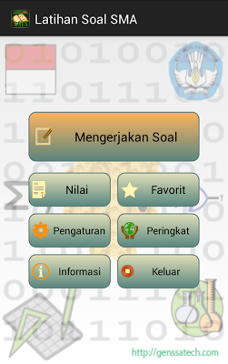 Latihan Soal SMA Free - screenshot