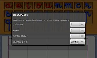 Screenshot of Alfabeto Mobile