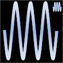 Audio generator plays tones logo
