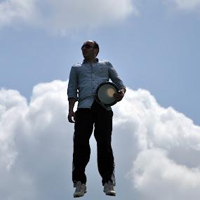 Flying by Ahmet AYDIN - People Street & Candids
