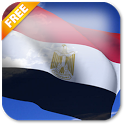 3D Egypt Flag Live Wallpaper icon
