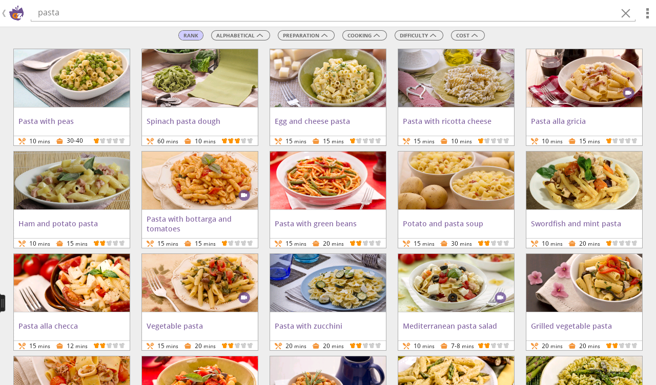GialloZafferano Recipes- screenshot