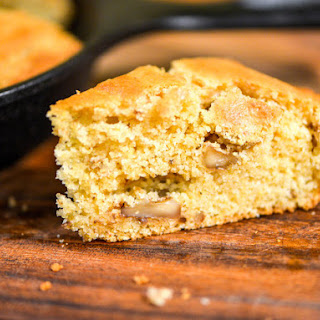 Maple and Walnut Cornbread