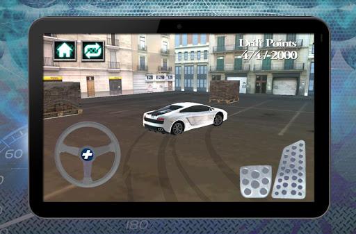 停車場漂移賽車3D