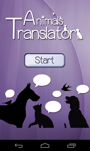 Animals Translator