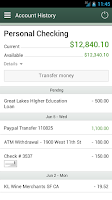 Screenshot of NEFCU Mobile App