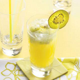 Sparkling Kiwi Lemonade.