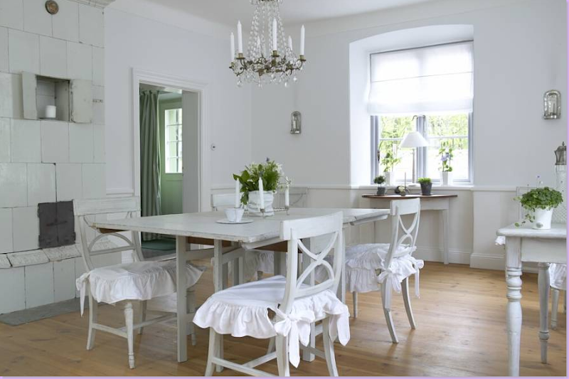 Here  this dining room reflects that love of the Gustavian style  An  ancient  plain white tiled fireplace warms the room. COTE DE TEXAS  Gustav   The Good
