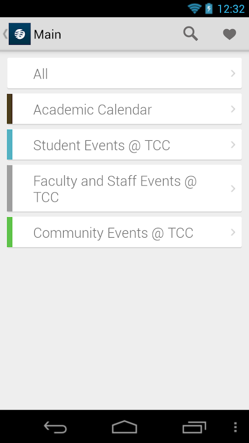 TCC Mobile- screenshot