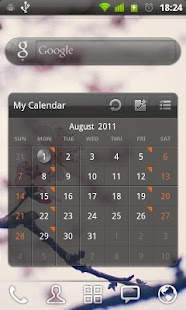 GOWidget Theme - Transparency - screenshot thumbnail