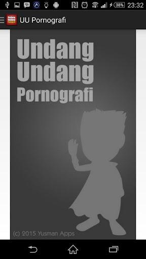 UU Pornografi