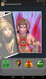 Hanuman Ashtak:3D Book - screenshot thumbnail
