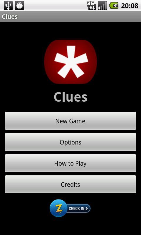 Clues- screenshot