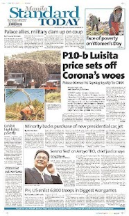 Philippines Newspaper - screenshot thumbnail