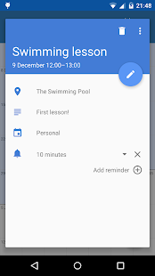 Touch Calendar Free - screenshot thumbnail