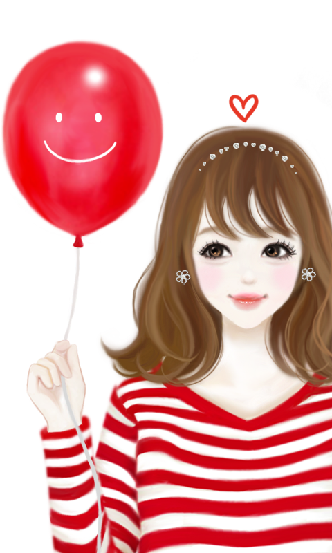 Love Balloon With cartoon Wallpaper : ?? ???? ???? ?? - Android Apps on Google Play
