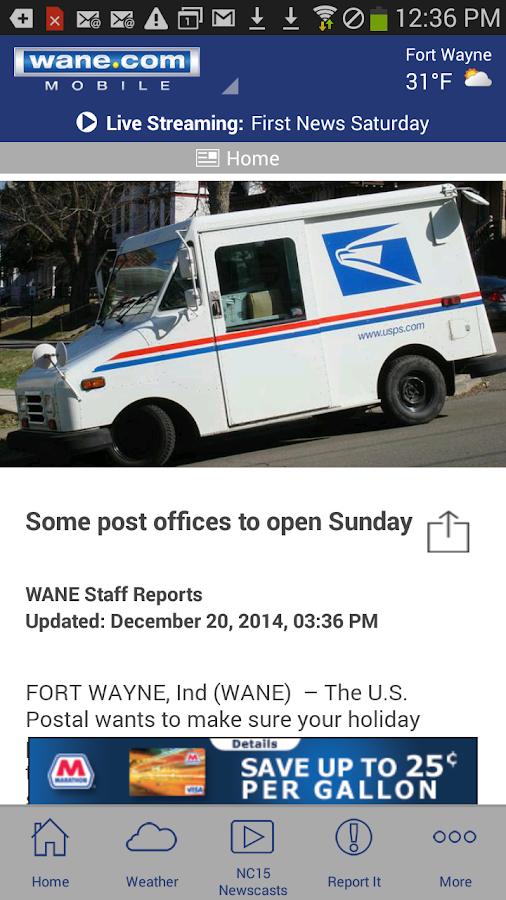 WANE 15 - screenshot