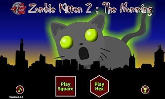 Screenshot of Zombie Kitten 2 : The Nomming