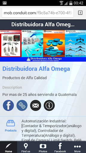 Distribuidora Alfa Omega