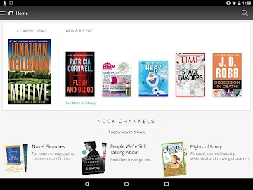 NOOK: Read eBooks & Magazines Screenshot 1