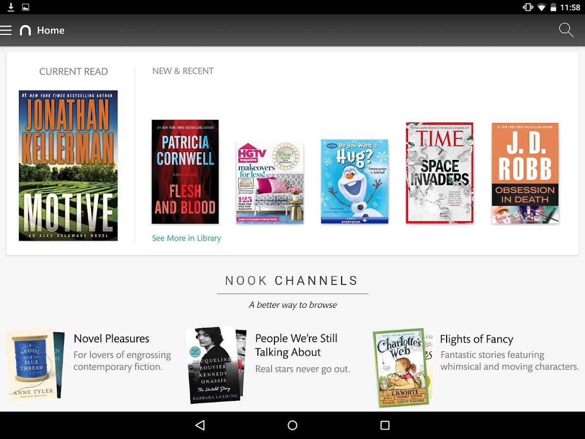 NOOK: Read eBooks & Magazines - screenshot