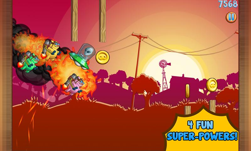 Jetpack Piggies Bros - screenshot