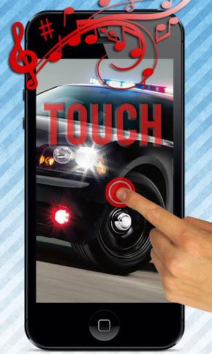 警車警笛聲按鈕