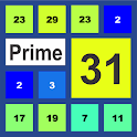 Prime 31 - Number Puzzle Game icon