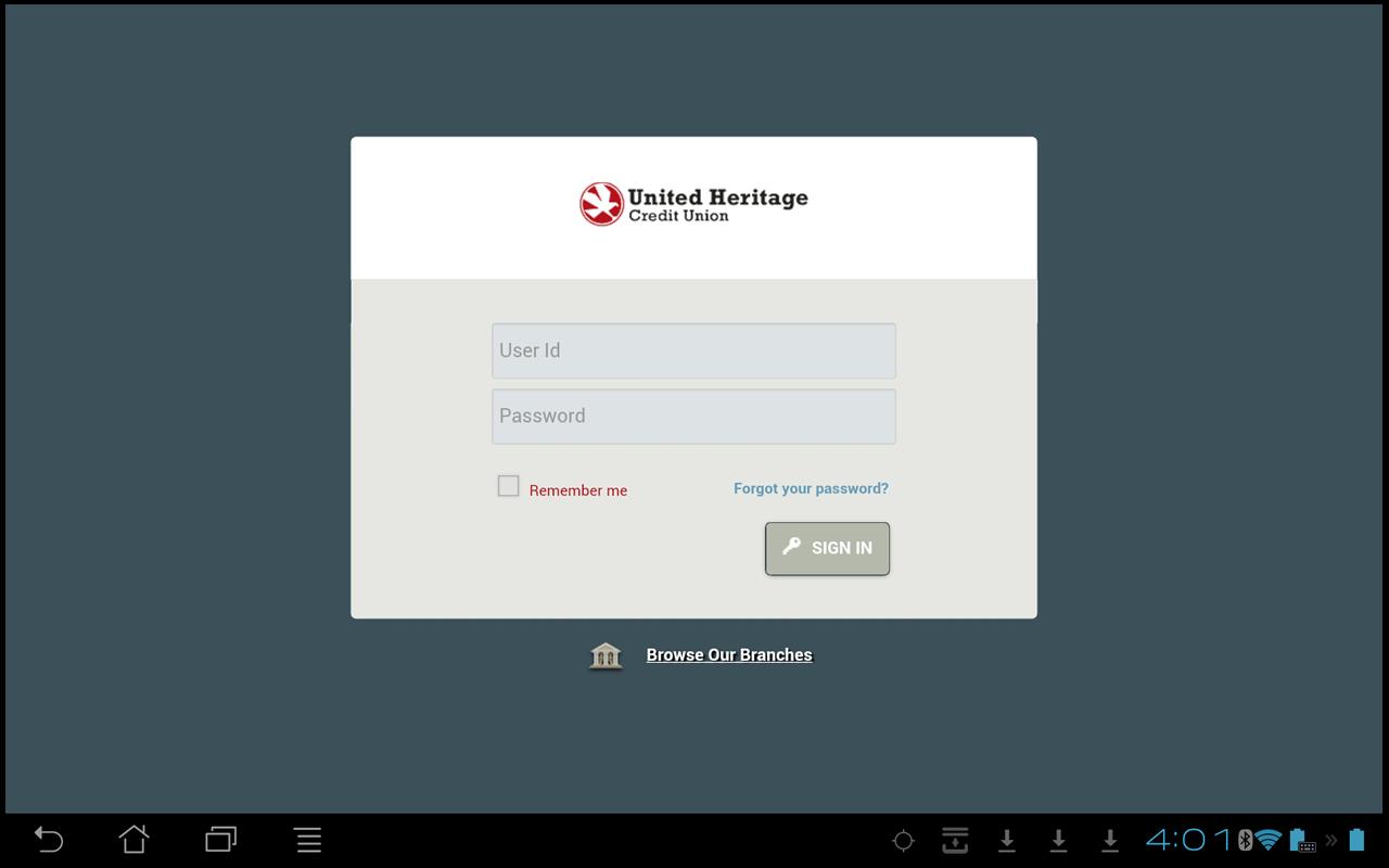 UHCU Mobile - screenshot