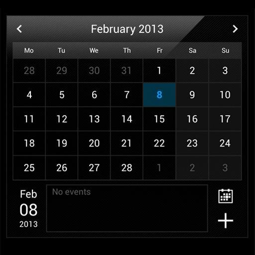 Droid Calendar Widget 生產應用 App LOGO-APP試玩