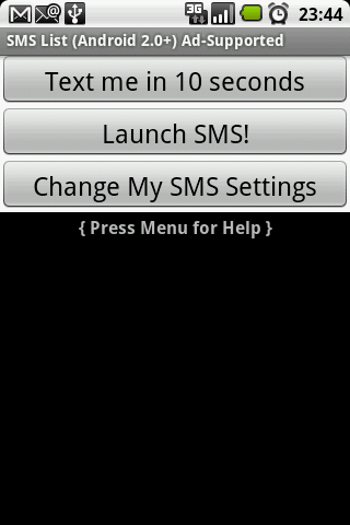SMS Faker™ (Ads) - screenshot
