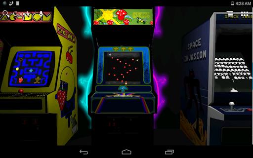 At the Arcade 3D Wallpaper