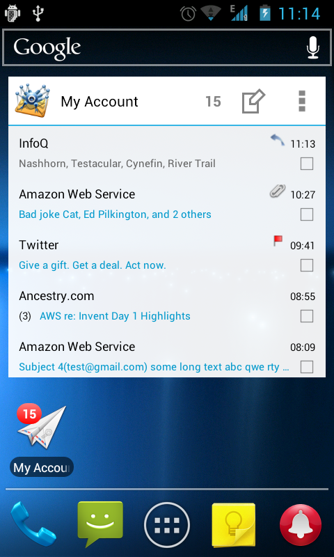 MailDroid Pro - Email Application Screenshot 7