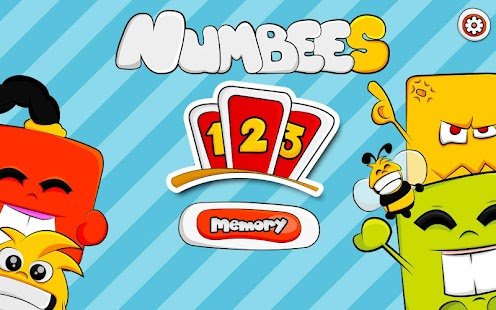 123 Kids Memory Game - Numbees- screenshot thumbnail