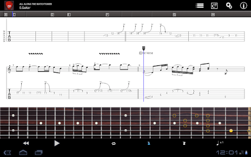 Guitar Pro - screenshot thumbnail