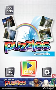 Waterfalls Puzzles - Free - screenshot thumbnail