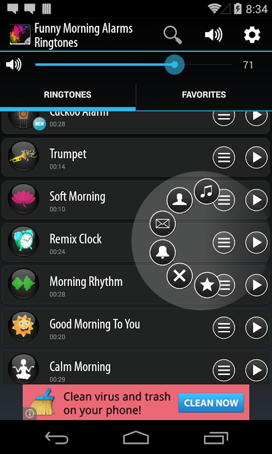 Funny Morning Alarm Ringtones- screenshot